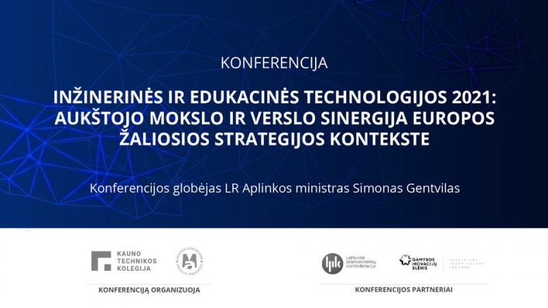 Tarptautinė konferencija, skirta mokslo ir verslo sinergijai