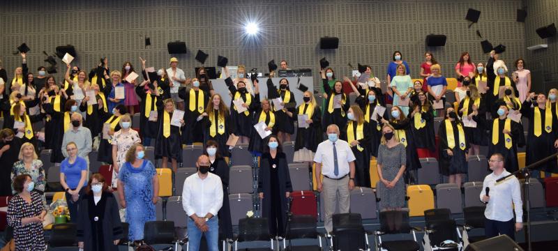 Kolegiją baigė 19-oji absolventų laida