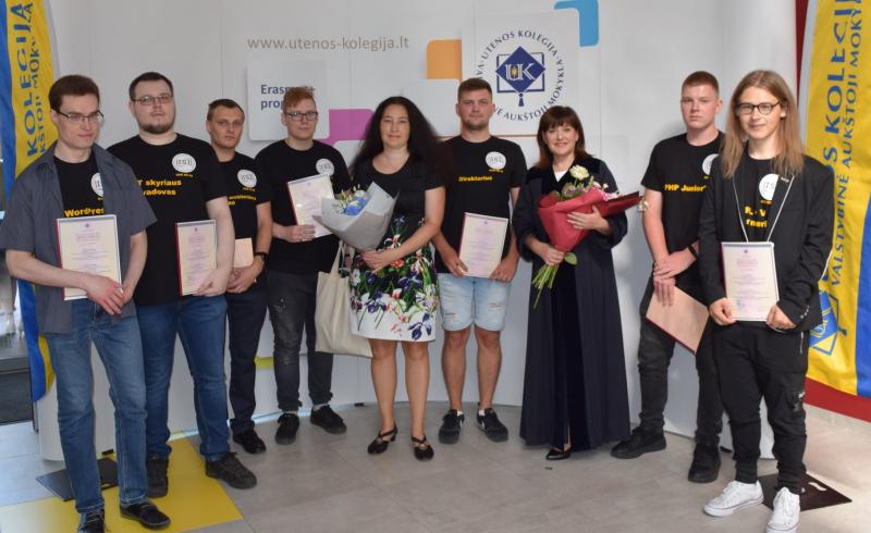 Utenos kolegijos Profesinės stažuotės programa absolventams