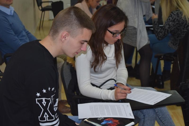PROFADIENIO renginio atrankoje – gausus studentų būrys