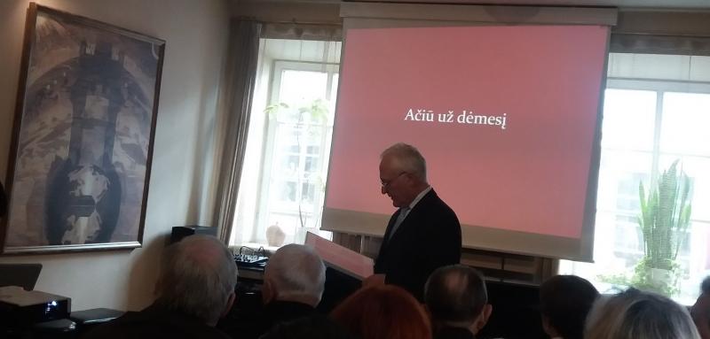 Lietuvių kalbos draugijos suvažiavime pristatyta kolegijos lituanisčių veikla