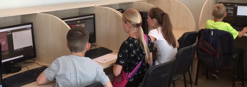 Programavimo stovykla moksleiviams