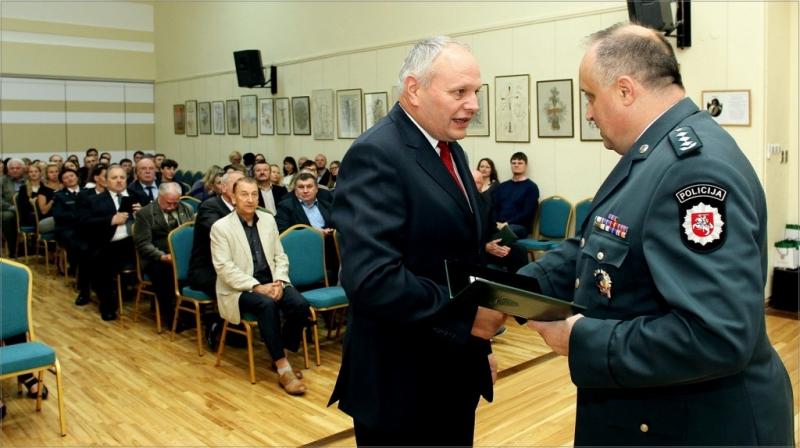 Apdovanojimas už dalyvavimą Lietuvos Nepriklausomybės atkūrimo įvykiuose