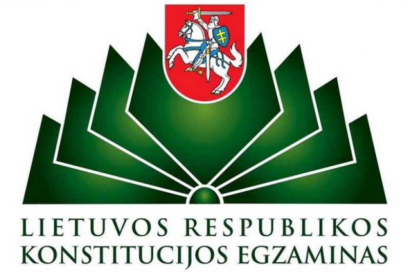 Kolegijoje vyko LR Konstitucijos egzaminas