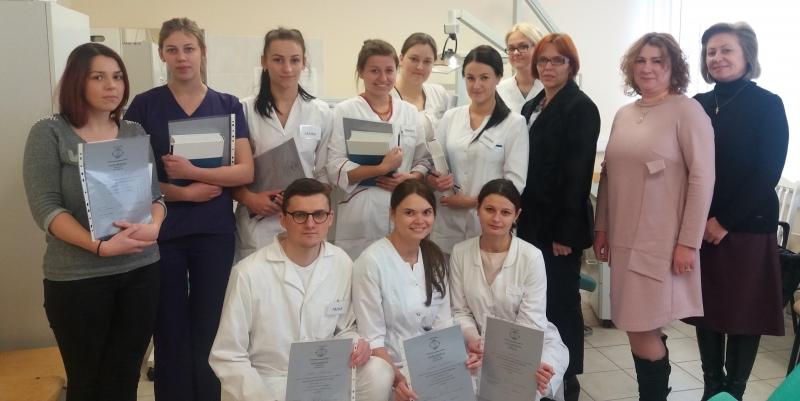Odontologinės priežiūros studijų programos trečio kurso studentų profesionalumo konkursas