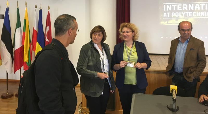 Utenos kolegijos atstovių vizitas Portugalijoje