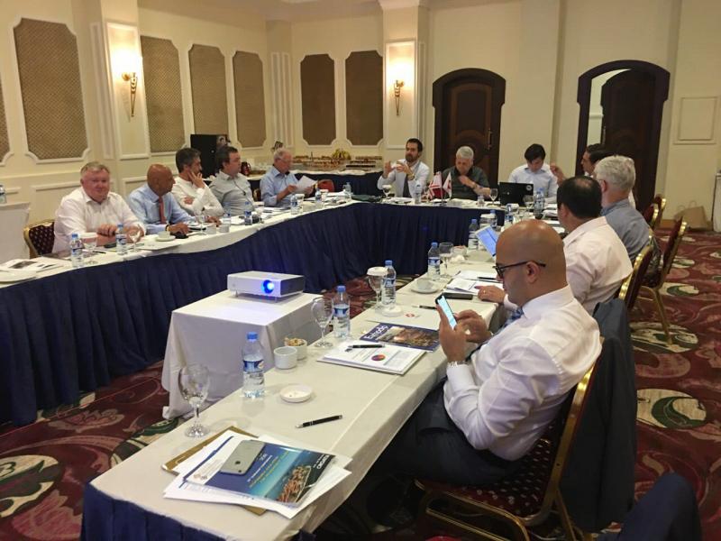 EURHODIP asociacijos Direktorių tarybos susitikimas Šiaurės Kipre
