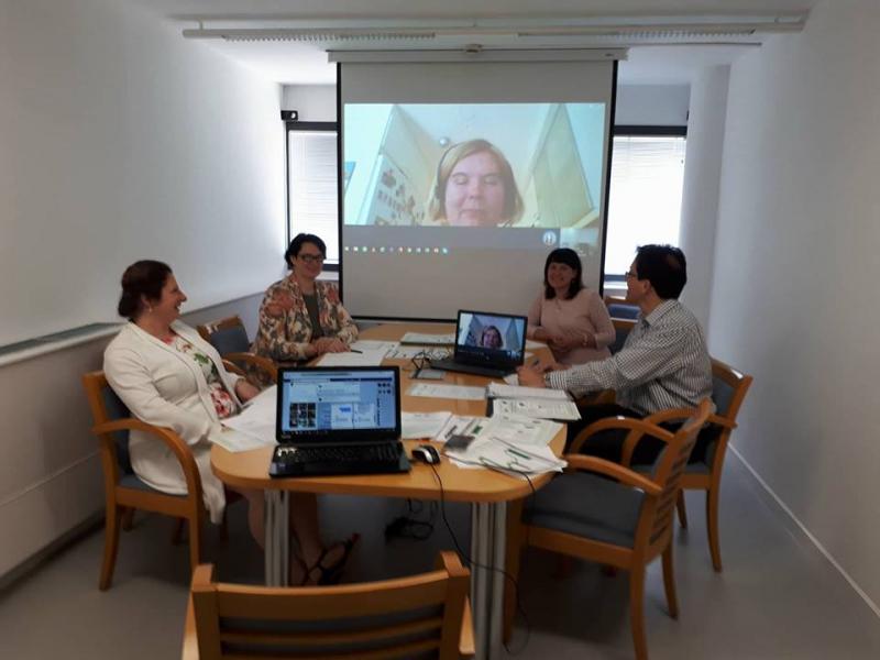 Erasmus+ strateginių partnerysčių projekto valdymo grupės posėdis Barselonoje