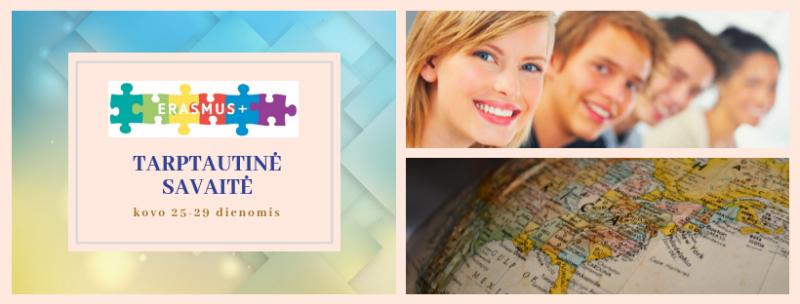 Utenos kolegijoje - tarptautinė Erasmus+ savaitė