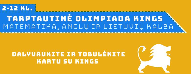 Kings olimpiados vyksta Utenos kolegijoje