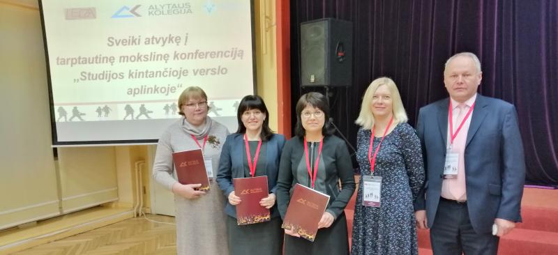 Ekonomikos dėstytojų asociacijos nariai dalyvavo konferencijoje