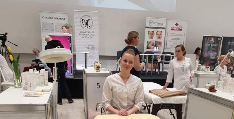 Kosmetikų ir kosmetologų konkurse laimėtas specialusis prizas