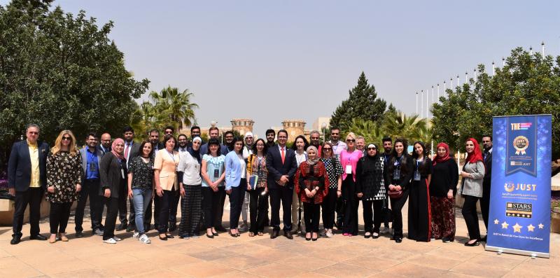 1-oji tarptautinė savaitė Jordanijos mokslų ir technologijų universitete