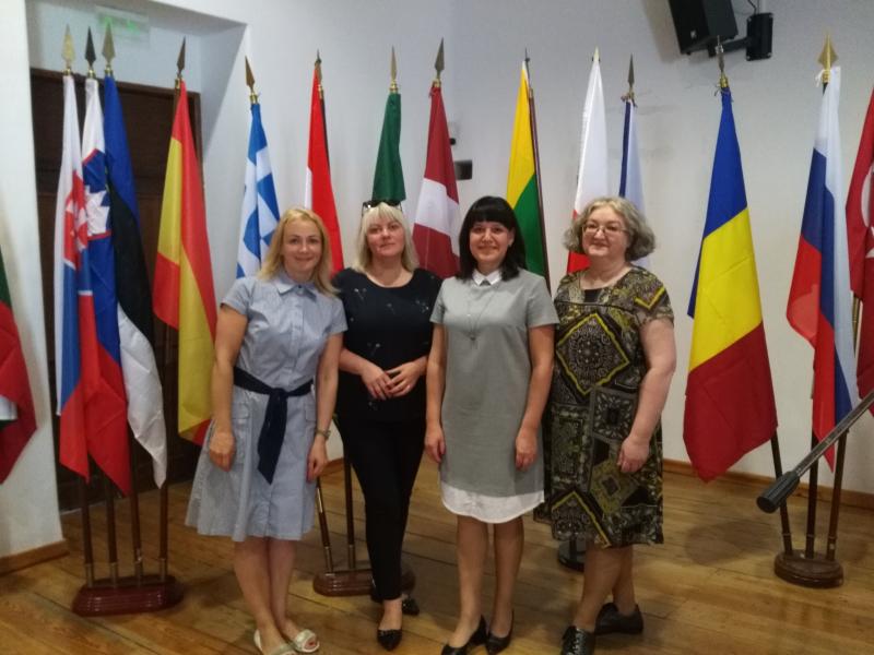 Utenos kolegijos atstovių vizitas Portalegre Politecnico Institute, Portugalijoje