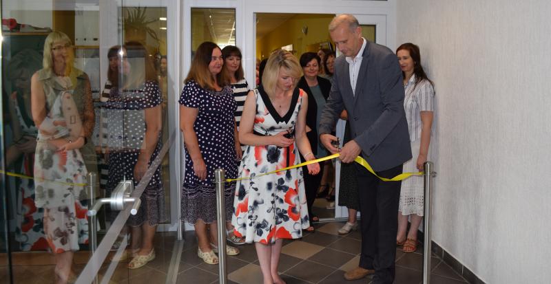 Atidaryta atnaujinta kolegijos biblioteka