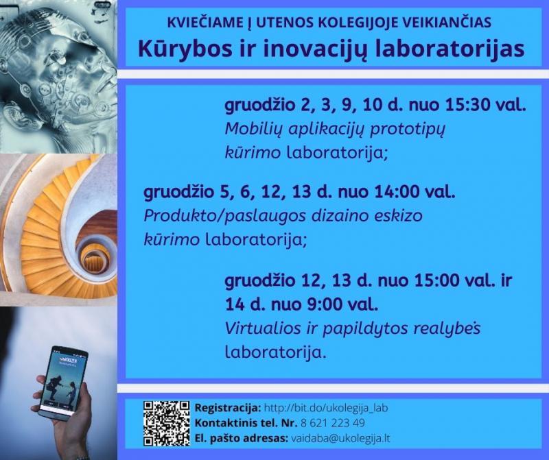 Inovacijų ir kūrybiškumo laboratorijos