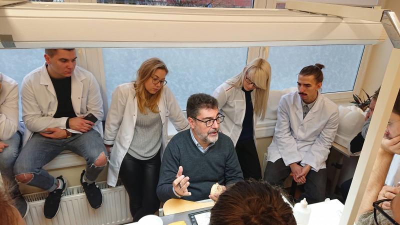 Erasmus+ teaching visit from University of Lisbon