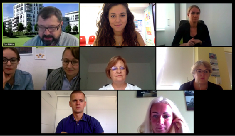 Transnational Project Meeting online